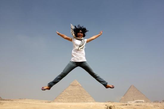 Pyramids show Photo