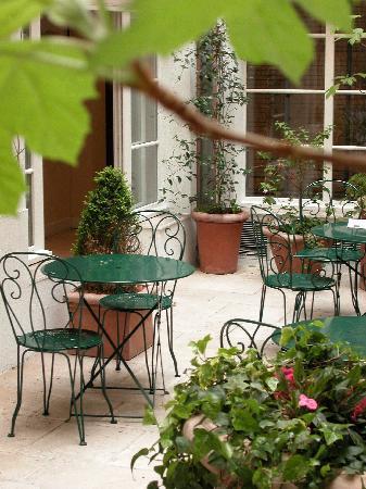 Hotel Le Clos Medicis: Garden