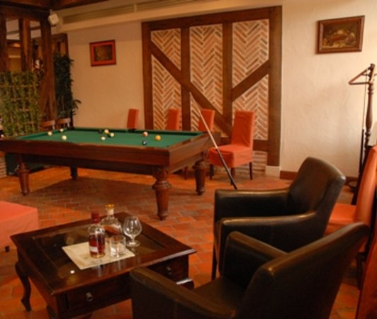 Yvoy le Marron, Francja: Billard room