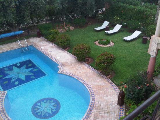 Villa Aalma: vue de la terrasse de la chambre