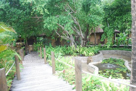 The Mana Spa: view of the outside