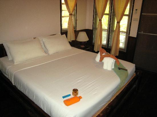 MOONLIGHT Exotic Bay Resort : Vue de la literie