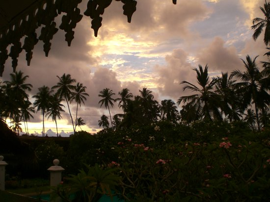 Sri Budhasa Ayurveda Resort: Ausblick aus dem Zimmer im obersten Stock