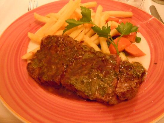 L'Entrecôte Couronnée: Steak