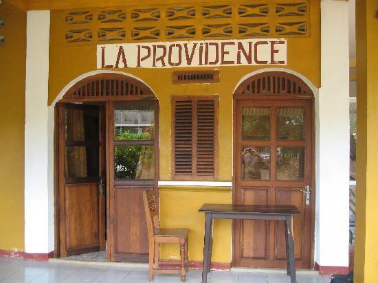 Hotel La Providence: ambiance tropicale
