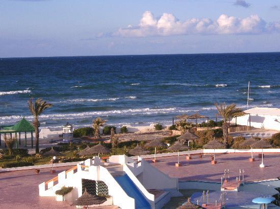 Helya Beach & SPA : Aussicht vom Zimmer-->Balkon