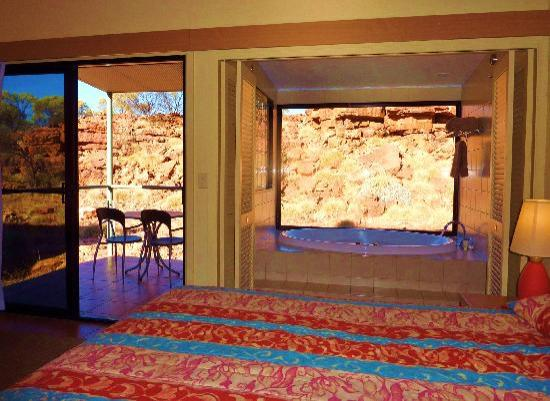 Kings Canyon Resort: la chambre