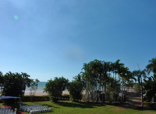 Skycity Darwin: le jardin vu de la chambre