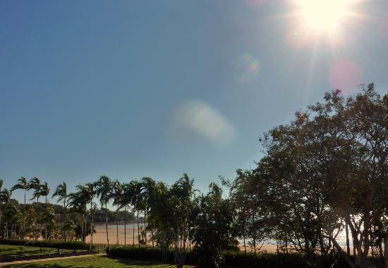 Skycity Darwin: vue depuis la chambre