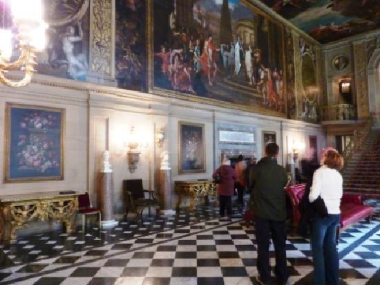 Premier Inn Chesterfield West Hotel: Chatsworth House (The Painted Hall) - no photography restrictions here!