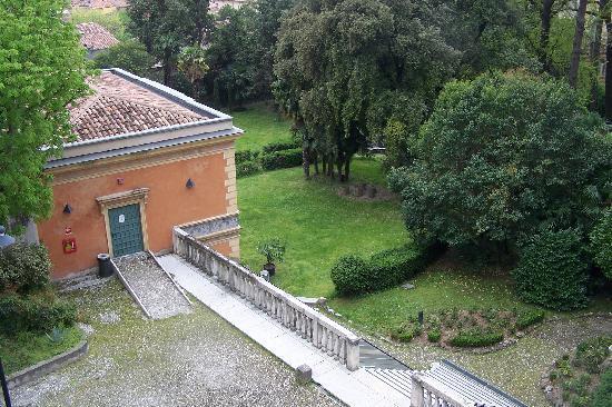 Ostello della gioventu Villa Francescatti: La vista dalla nostra camera
