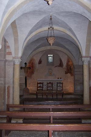 S. Giovanni in Valle: La chiesa sottostante
