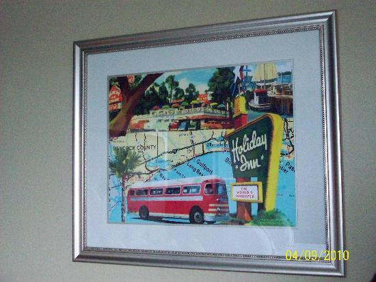 Holiday Inn Gulfport/Airport: Holiday Inn wall art