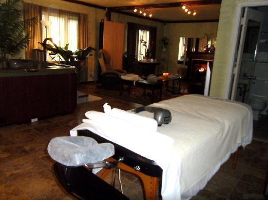 Hartness House: The spa - romantic