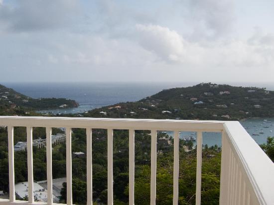 Windcrest Villa: View from Windcrest Villa deck