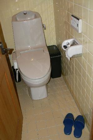 Inn Kawashima: WC dames