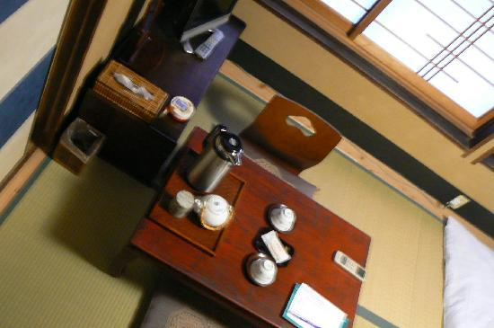 Inn Kawashima: Coin repas dans la chambre
