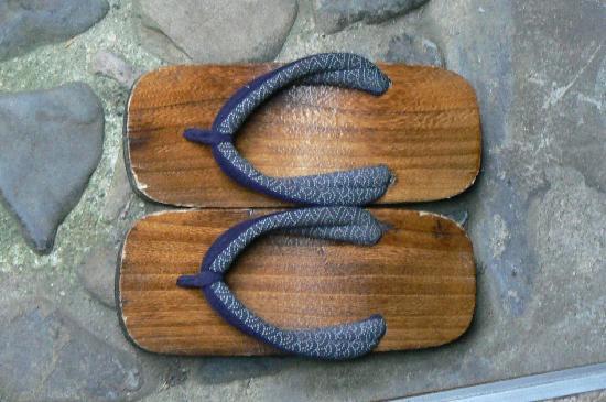 Inn Kawashima: Chaussons