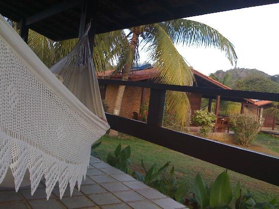 Pousada Solar Dos Ventos: hammock at the veranda
