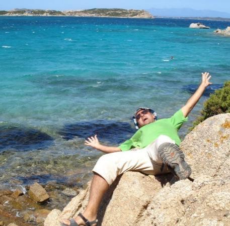 La Maddalena, Italy: Le acque della Sardegna mi rapirono...