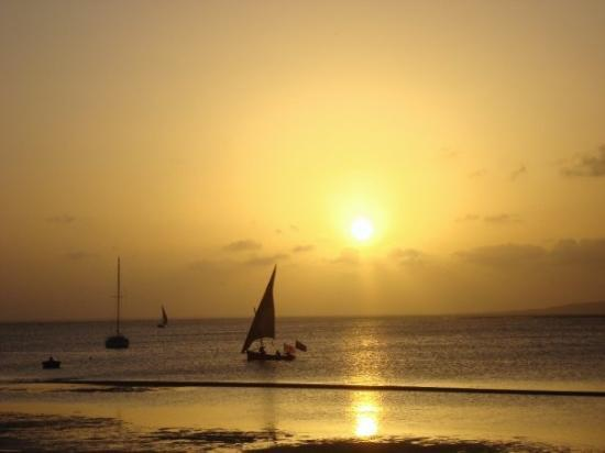 Lamu Island, Kenya: view from my bed