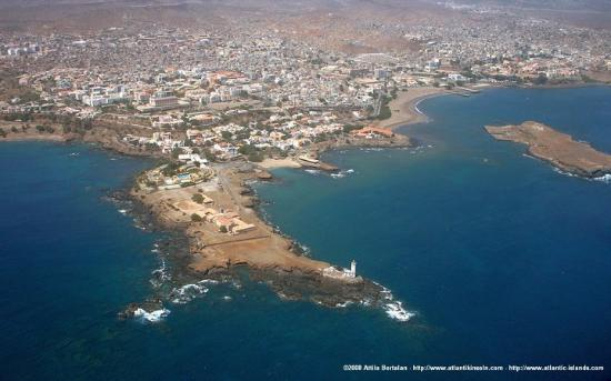 Santiago, Kap Verde: Cidade da Praia Achada de Stº António