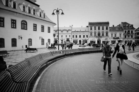 Piata Sfatului, Brasov, Romania