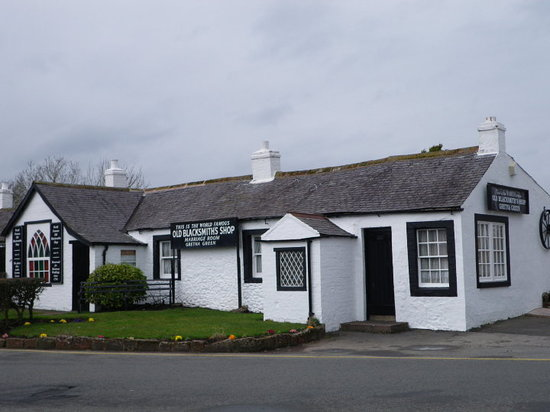 Famous Blacksmiths Shop: Gretna Green - de beroemde Blacksmith