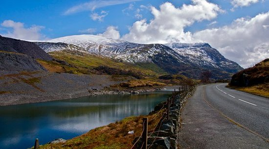 Llanberis, UK: Grand Painter!!