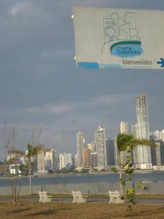 Colon, Panama: Downtown Panama City