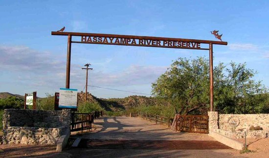 Wickenburg, AZ: Entry to the Preserve