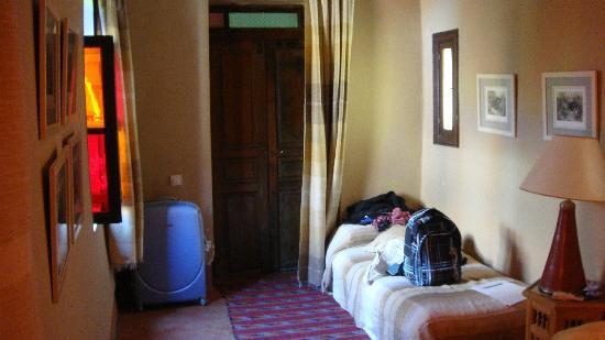 Riad Barroko: Entrada habitacion Mogador