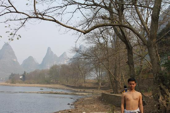 Showbiz Inn: Breathtaking view during Yangdi-XingPing Hiking