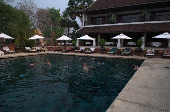 Belmond La Residence Phou Vao: Hotel swimming pool