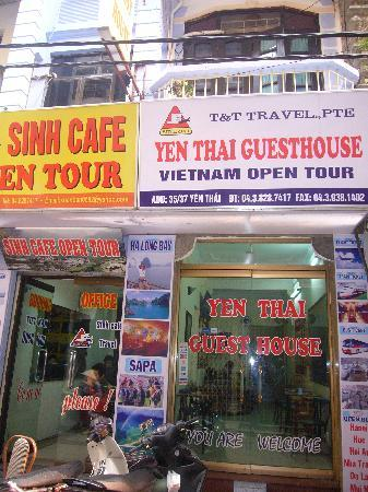Yen Thai Guesthouse: hotel entrance