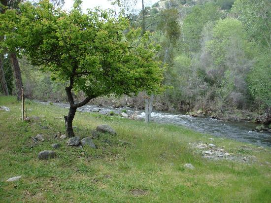 Sequoia RV Ranch: The river behind our rv site