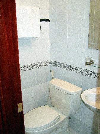 Hanoi Ciao Hotel: The toilet