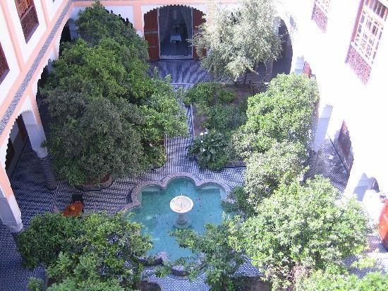 Palais Amani: vue de la terrasse