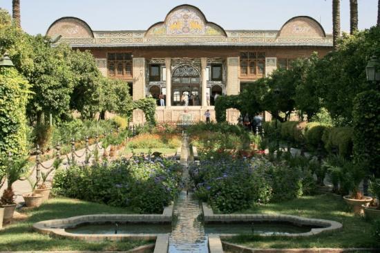 Шираз, Иран: Day 28 Shiraz 75 Bagh-e Naranjestan
