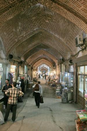 Day 36e Tabriz 42 Bazaar, Raste