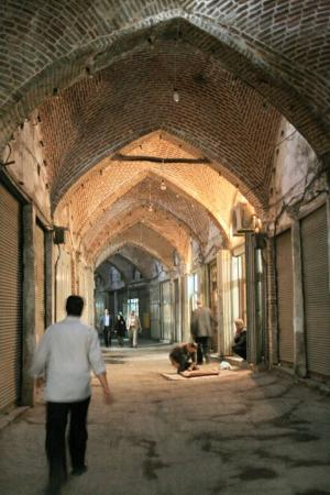 تبريز, إيران: Day 36e Tabriz 43 Bazaar, Raste
