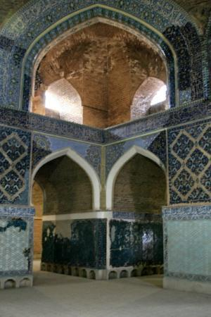 Табриз, Иран: Day 36e Tabriz 38 Blue Mosque, Main Sanctuary