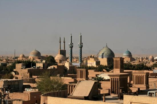 Day 24 Yazd 47 City Skyline North from Amir Chakhmaq