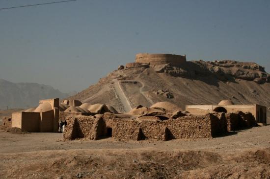Йезд, Иран: Day 24 Yazd 32 Towers Of Silence