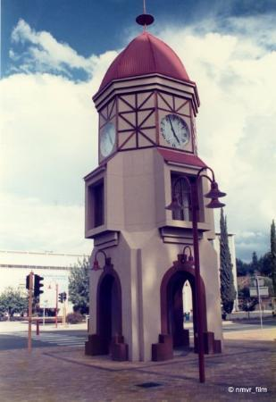 Clock Tower in the middle of town, Windhoek