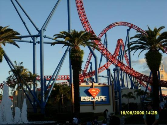 Superman Escape Ride Movie World Gc Picture Of Surfers Paradise