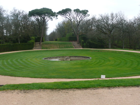 Chateau et Labyrinthe de Merville: Le jardin