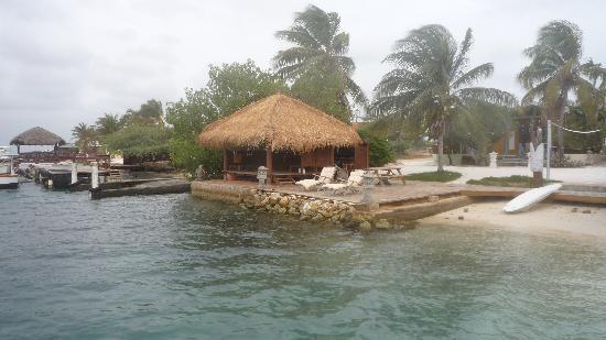 Aruba Reef Beach Apartments Vue Du Bungalow De Relaxation Prise La Plage