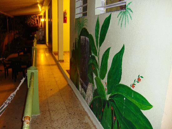 Posada Vistamar: View from the hallway