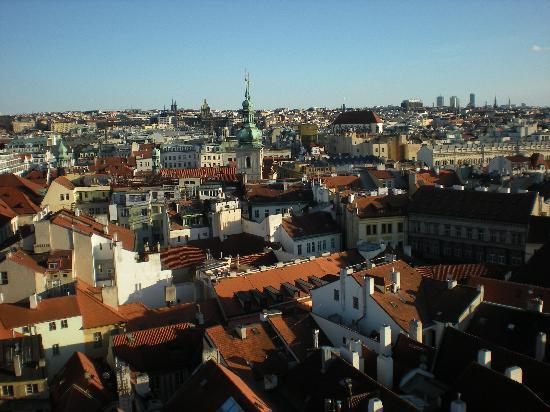 Prague, Czech Republic: Praga dall'alto
